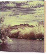 A Mystical River View Wood Print