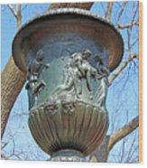 A Navy Yard Urn In Lafayette Square -- West Wood Print