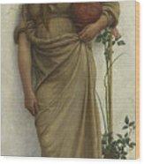 A Neapolitan Flower Seller, 1883  Wood Print