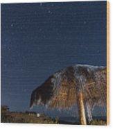 A New Baja Sky Wood Print