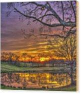 A New Day Dawns Wood Print