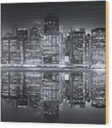 A New York City Night Wood Print