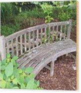 A Nice Sit 2 Wood Print