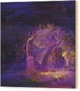 A Night Of Weeping In The Garden Gethsemane Israel 2008 Wood Print