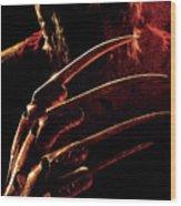 A Nightmare On Elm Street 2010 Wood Print