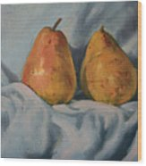 A Pair Wood Print