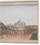 A Panoramic View Of Alwar Wood Print