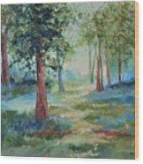A Path Not Taken Wood Print