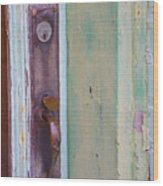 A Peeling Wood Print