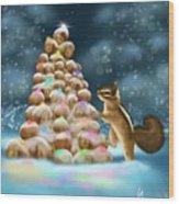 A Perfect Christmas Tree Wood Print