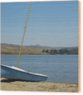 A Perfect Day For Sailing Wood Print