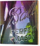 A Perfect Mason... Wood Print