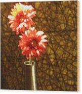 A Perfect Vase Wood Print