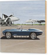 A Pilots Dream Wood Print by Richard Herron