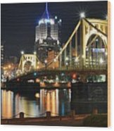 A Pittsburgh Panorama Wood Print