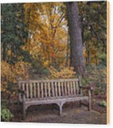 A Place To Rest Wood Print