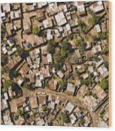 A Poor Neighborhood In Urban Maputo Wood Print