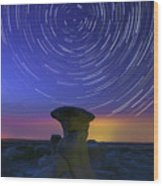 A Portal To Bisti Badlands Wood Print