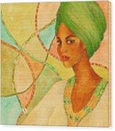 A Portrait Wood Print