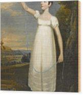A Portrait Of Ellen Smith Of Nottingham Wood Print