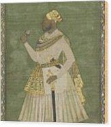 A Portrait Of Farhad Khan Wood Print