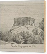 A Powder Magazine In Central Park From Scenes Of Old New York, By Henry Farrer, 1844-1903 Wood Print