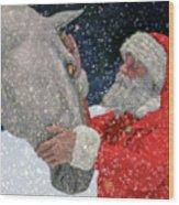A Present For Santa Wood Print