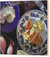 A Provence Luncheon Wood Print