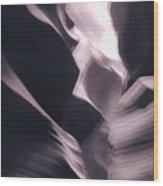 A Purple Dream Wood Print