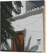 A Quiet Church Wood Print