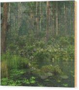 A Quiet Moment Wood Print