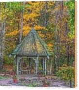 A Quiet Place-fall Time Wood Print