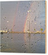 A Rainbow In My World #3 Wood Print