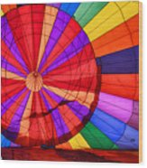 Temecula, Ca - A Rainbow Of Colors Wood Print