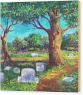 A Remembrance Wood Print