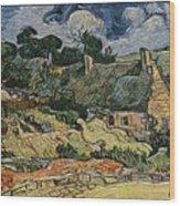 a replica of the landscape of Van Gogh Wood Print
