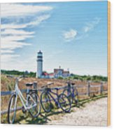 A Ride On The Cape Wood Print
