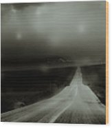 A Road To Perdition  Wood Print