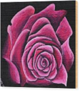 A Rose In Time Wood Print