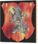a Royal Crest Wood Print