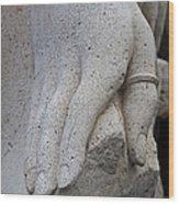 A Sacramento Hand Wood Print