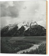A Salute To Ansel Adams Part I Wood Print