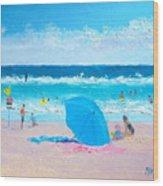 A Sea Breeze Wood Print