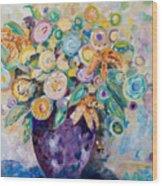 A Season Of Flowers Wood Print