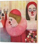 A Short Story For Pinka Wood Print