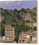 A Sicily View Wood Print