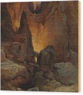 A Side Canyon, Grand Canyon Of Arizona Wood Print