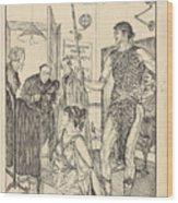 A Sixth Figure  Wood Print