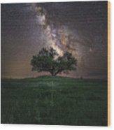 A Sky Full Of Stars Wood Print