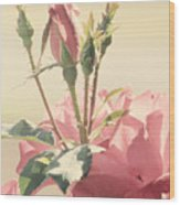 A Soft Sweet Note Wood Print